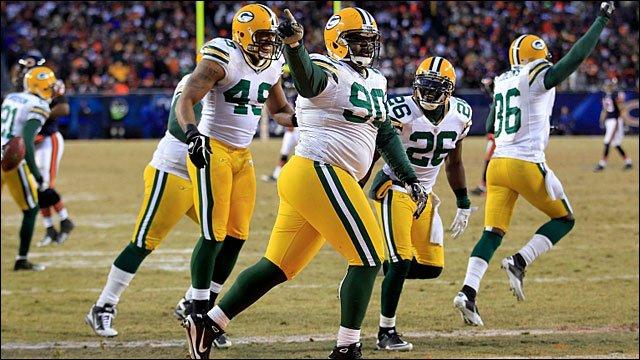 Green Bay Packers' BJ Raji