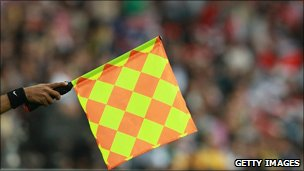 Assistant referee's flag