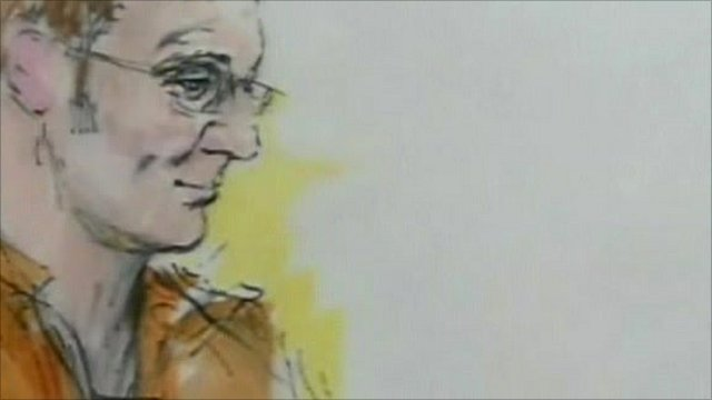 Court sketch of Jared Loughner courtesy of Bill Robles
