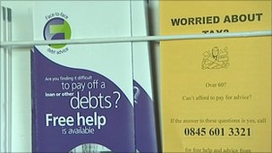 Debt advice leaflets - generic
