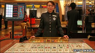 The Grand Lisboa hotel and casino
