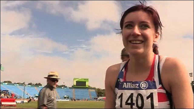 GB's Libby Clegg storms to 100m gold in NZ