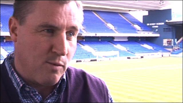 Ipswich Town boss Paul Jewell