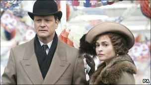 Colin Firth and Helena Bonham Carter in The King&#039;s Speech