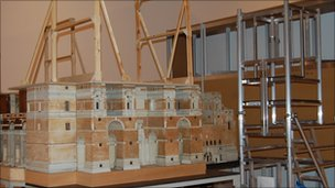 Model of Cathedral