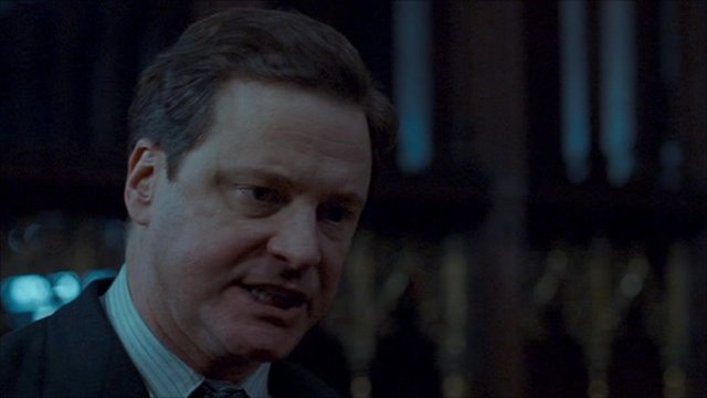 Colin Firth as King George VI in The King&#039;s Speech