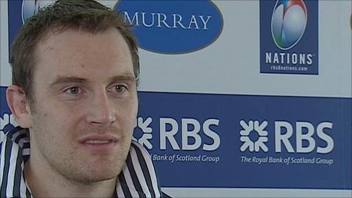 Scotland captain Alastair Kellock