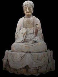 Buddha Sakyamuni (AD1174-1252) o Dazu, China.