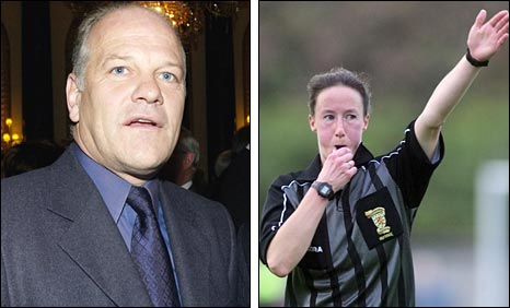 Andy Gray and Morag Pirie