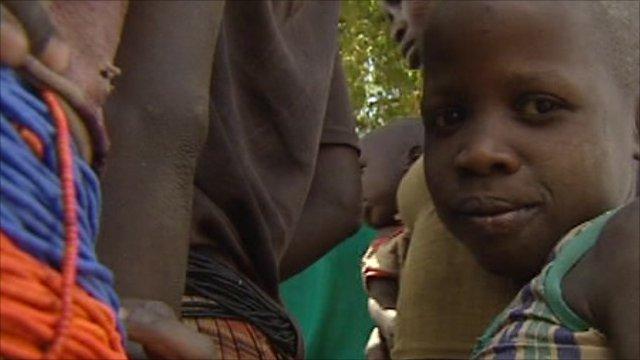 Child in Uganda