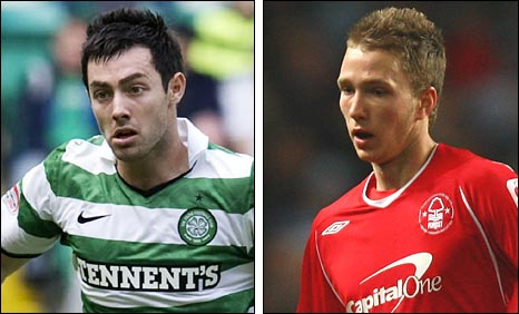 Richie Towell and Matt Thornhill