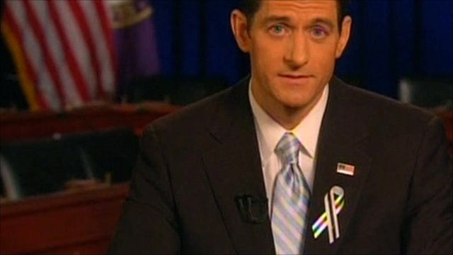 Wisconsin Republican Representative Paul Ryan