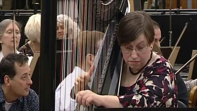 Harpist Sioned Williams