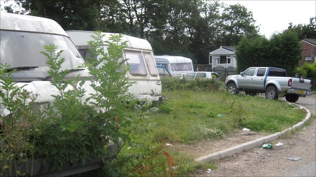 Barnfield Park Gypsy and Traveller site, Kent