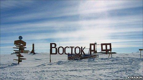 Vostok station, Antarctica