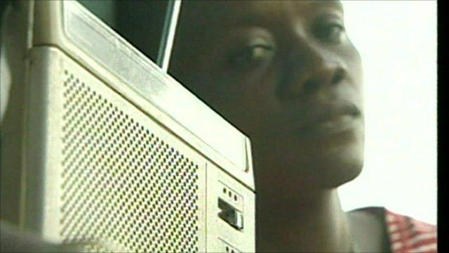 World Service listener
