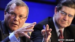 Sir Martin Sorrell and James Turley