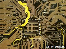 Patterns on a printed circuit board