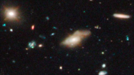 Oldest galaxy found
