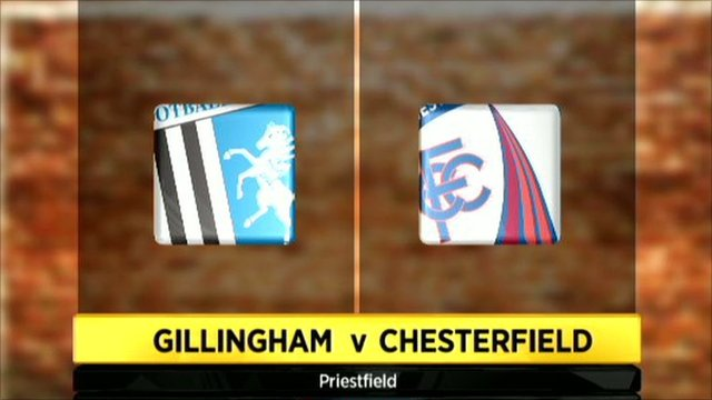 Highlights - Gillingham 0-2 Chesterfield