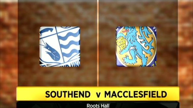 Graphic of Southend 4-1 Macclesfield