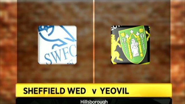 Graphic of Sheffield Wednesday 2-2 Yeovil