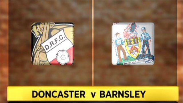Highlights - Doncaster 0-2 Barnsley