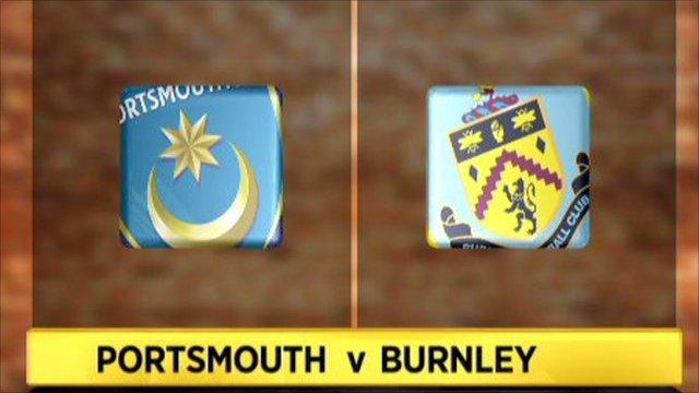 Highlights - Portsmouth 1-2 Burnley