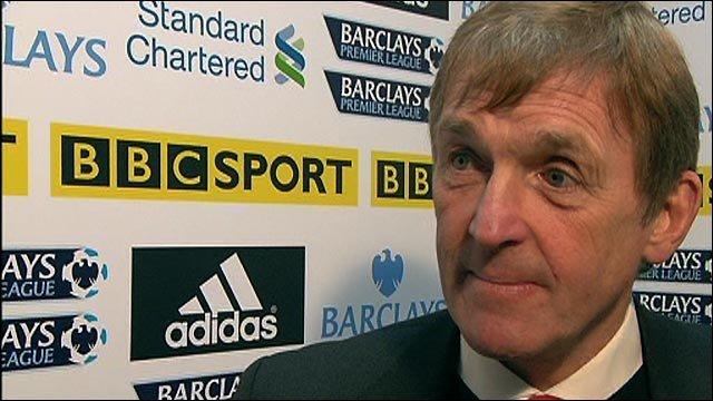 Liverpool boss Kenny Dalglish sees signs of progress