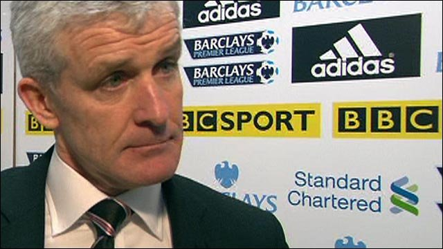 Fulham boss Mark Hughes bemused by Liverpool luck