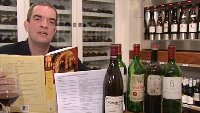 Giles Dilnot and wine