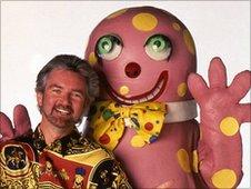 Noel Edmonds and Mr Blobby