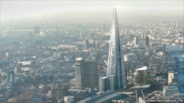 Official press image of Shard London Bridge
