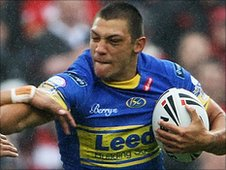 Leeds Rhinos winger Ryan Hall