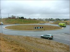 The Twelvewoods roundabout