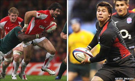 Mike Phillips and Ben Youngs