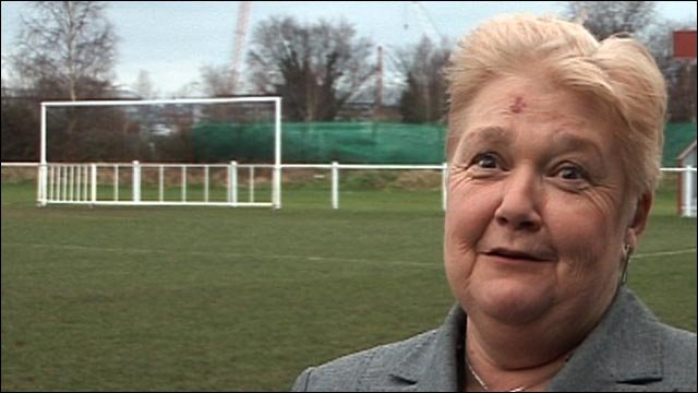 FA Dorset chief executive and FA Council member Sue Hough