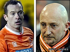 Charlie Adam and Ian Holloway