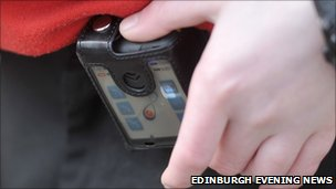 Pupil with SkyGuard GPS device
