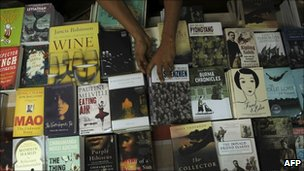 Books at the Galle festival