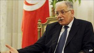 Tunisian Foreign Minister Kamel Morjane. Photo: 25 January 2011