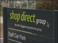 Shop Direct yn Burnley