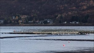 salmon farm