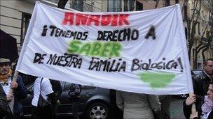 Anadir members in Spain
