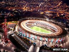 West Ham's vision of the Olympic Stadium