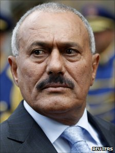 President Ali Abdullah Saleh of Yemen, 10 January 2011