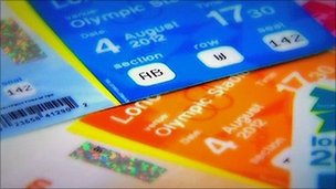 51001950 tickets image448 - 2012 Olympic Games Ticket applicatioins very high