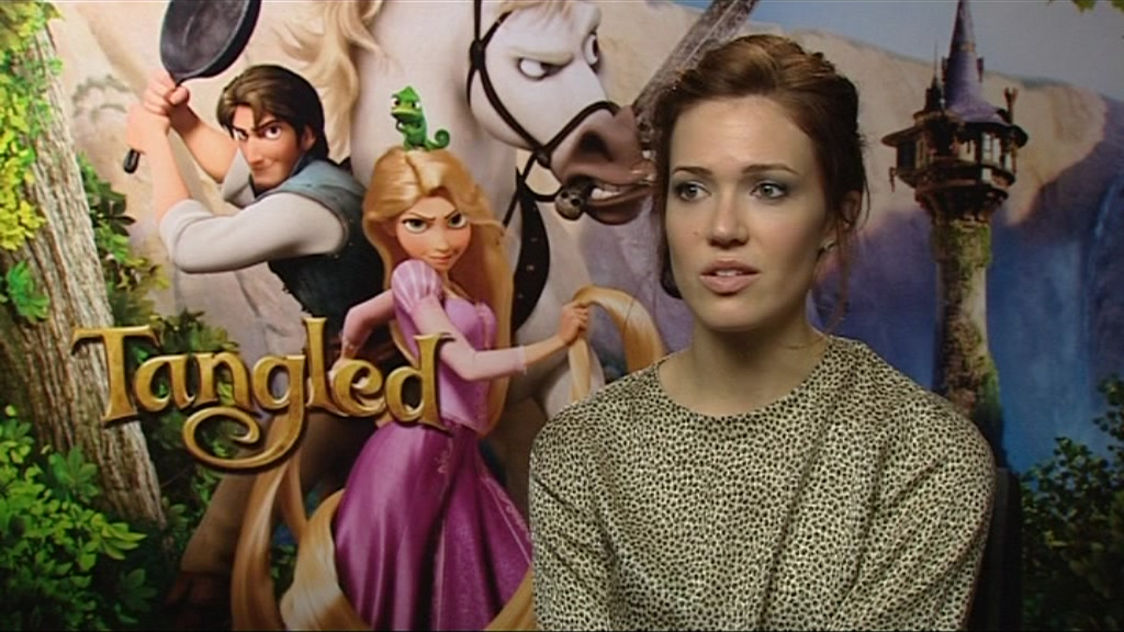 Tangled star Mandy Moore