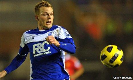 Sebastian Larsson in action for Birmingham