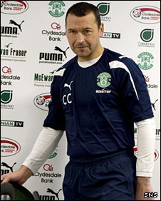 Hibs boss Colin Calderwood